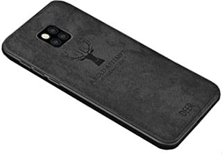 Fabric Cover For Huawei Mate 20 Pro -  Black