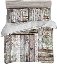 ADGSSJ Manija de cerradura de puerta corredera antirrobo con llaves para granero Muebles de madera Herrajes Cerradura de puerta para puertas dobles Cerradura plata