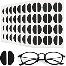 1.5mm 10 Coppie Antiscivolo Naselli Autoadesiva Chiaro Nasello Morbido Cuscino Occhiali Pads per Occhiali da Sole Chiaro Trasparente