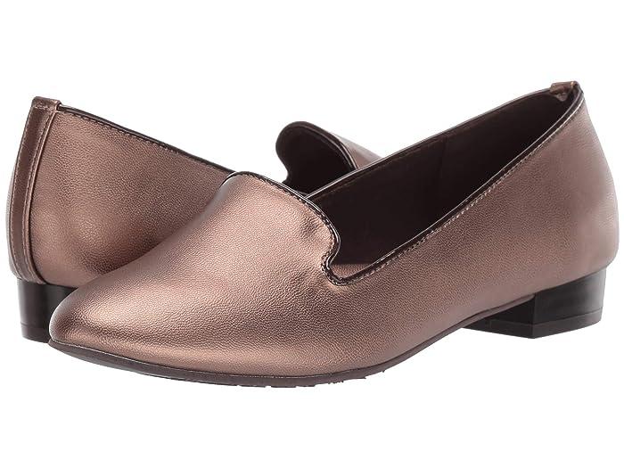 Soft Style  Charmy (Bronze) Womens Dress Flat Shoes
