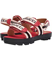 Gucci Kids - GG Double Strap Sandal (Little Kid)