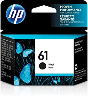HP 61 | Ink Cartridge | Works with HP Deskjet 1000 1500 2050 2500 3000 3500 Series, HP ENVY 4500 5500 Series, HP Officejet...