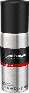 bruno banani Pure Man dezodorant w sprayu dla mężczyzn, 150 ml