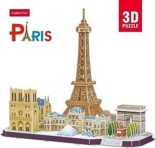 Cubic Fun 3D Puzzle City Line Paris For Unisex - 114 Pieces