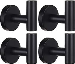 Amazon Com Black Bathroom Hooks