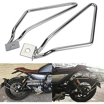 Saddle bag Support Bars Mount Bracket For Harley Sportster 883 Dyna Fat bob Iron