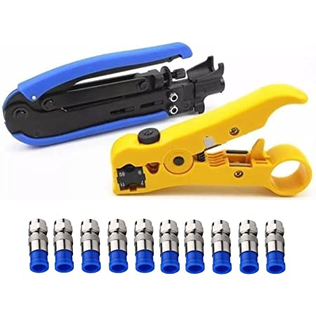 Draht Kabel Werkzeug Coax Stripper Multifunktional Für Bnc F Connectors Aerial