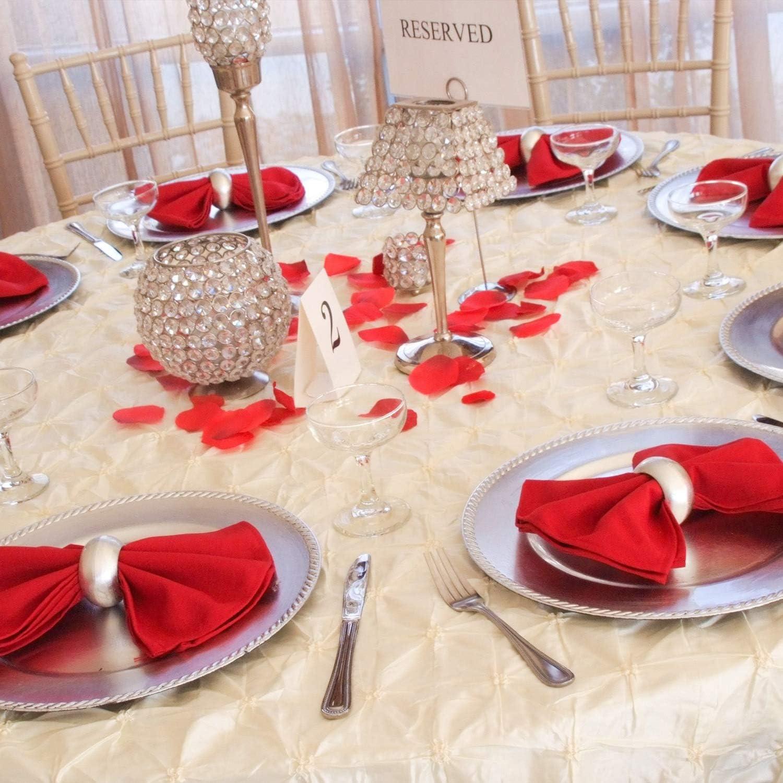 Banquet F/êtes Trimming Shop Fil/é Polyester Table Serviette avec Grelot Broderie No/ël D/îner D/écoration pour Maison No/ël F/êtes Uni Vert 20 x 20 inch 20 x 20 H/ôtel