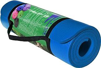 Skyland Yoga Mat, Blue- 10mm Thick