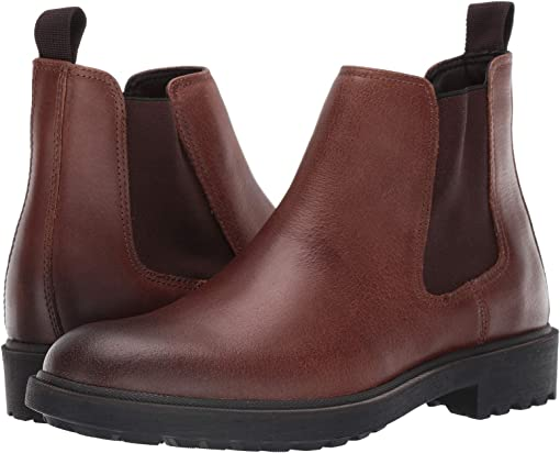 Dark Brown Vintage Pull Up Leather