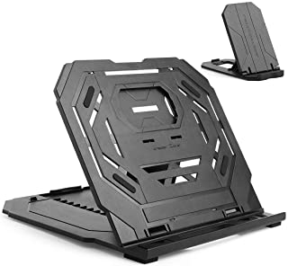 Drawing Tablet Stand, Laptop Stand, Foldable Stand for Pen Tablet Display, 9 Levels Adjustable Angles Heat Dissipation Des...