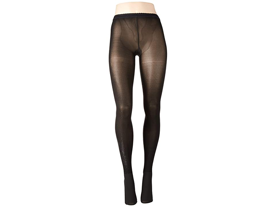 Wolford Wilma Tights (Black/Black Metallic) Hose