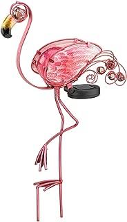 Regal Art &Gift Solar Flamingo Stake