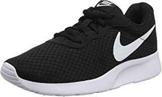 Nike Women's Tanjun Running Shoes Black (Black/White)