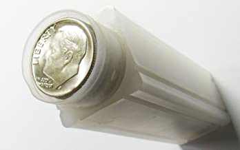1960 10¢ Silver Roosevelt Dime $5 Face Value Roll (50 Coins) BU