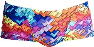Funky Trunks FT30M02067 Men's Swimming Trunks Layer Cake Colourful