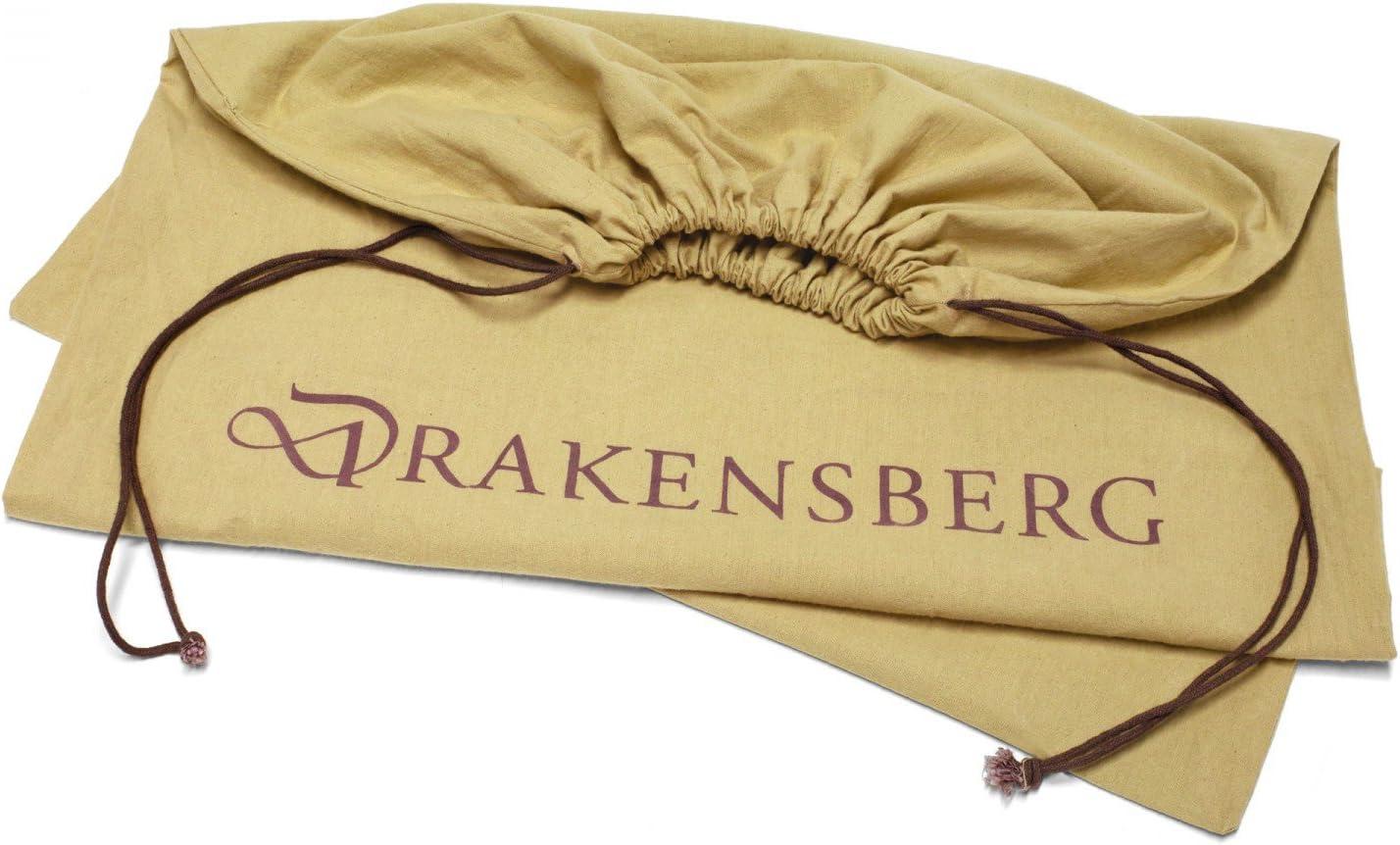 60 L DR00125 verde oliva realizzato a mano in qualit/à premium borsone e zaino grande in stile r/ètro vintage DRAKENSBERG Duffel Bag tela e pelle Sacca da marinaio