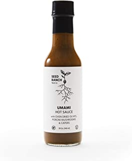 Seed Ranch Flavor Co - Umami Sauce (Mild) - Organic Gourmet Savory Sauce for Cooking, Marinating, Grilling, and Dousing