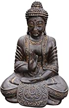Decoration Resin Buddha Statue Ornament Statue Religious Supplies Perfect Home Gift 17.5×12×25cm Craft Ornament Buddha Dec...
