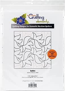 Quilting Creations Bellini, 5-1/4 Inch Rows,UTA-1001 Urban Elementz Tear Away, 4 Pack