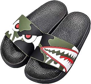 SITAILE Slide Sandals for Girls Boys Non-Slip Soft Outdoor Indoor House Slippers for Kids