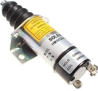 Holdwell Replace Shutdown Shutoff Solenoid 1502ES-12C6U1B2S1 SA-3398 1502 Type 12V
