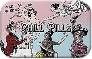 Molly & Rex Chill Pills Decorative Tin, Multicolor