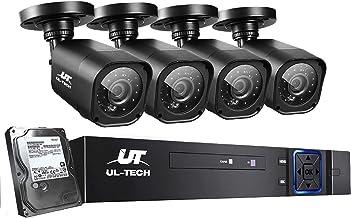 UL-TECH CCTV Camera Security System 8CH DVR 1080P Cameras Outdoor Day Night