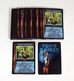 Lot of (50) 2000 Precendence Lara Croft Tomb Raider CCG Promo Card (#217) Nm/Mt