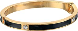 GUESS - Hinged Enamel Bracelet with Crystal Accents