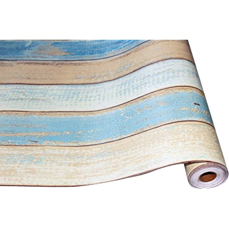 HOMEME 壁紙シール リメイクシート 木目 DIY 45x600cm 剥がせる 和風 防水 耐熱 防カビ 防汚 接着剤不要