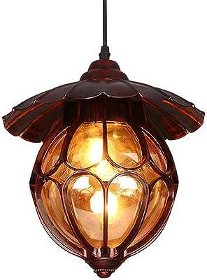 HYYZ Retro LED creative metal single chandelier aisle Pendant Lights balcony corridor lighting E27 110V-