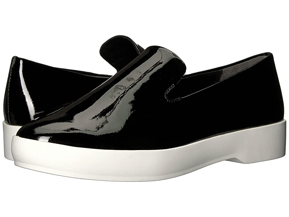 Donna Karan Pia Slip-On (Black Patent Leather) Women