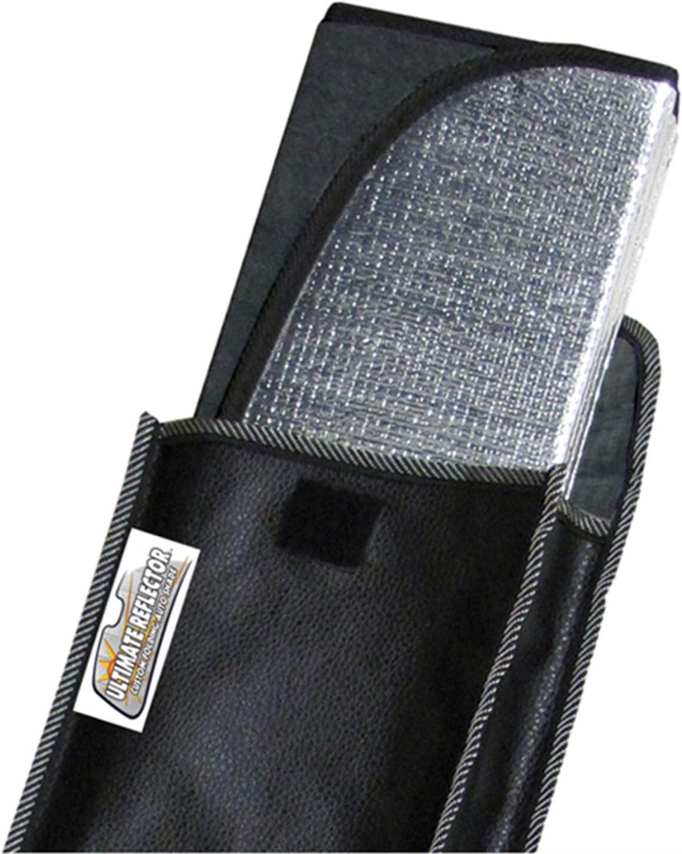 Intro-Tech Automotive TT-909 Custom Fit Windshield Sunshade Custom Fit Sunshade Silver w/Sensor Custom Fit Windshield Sunshade