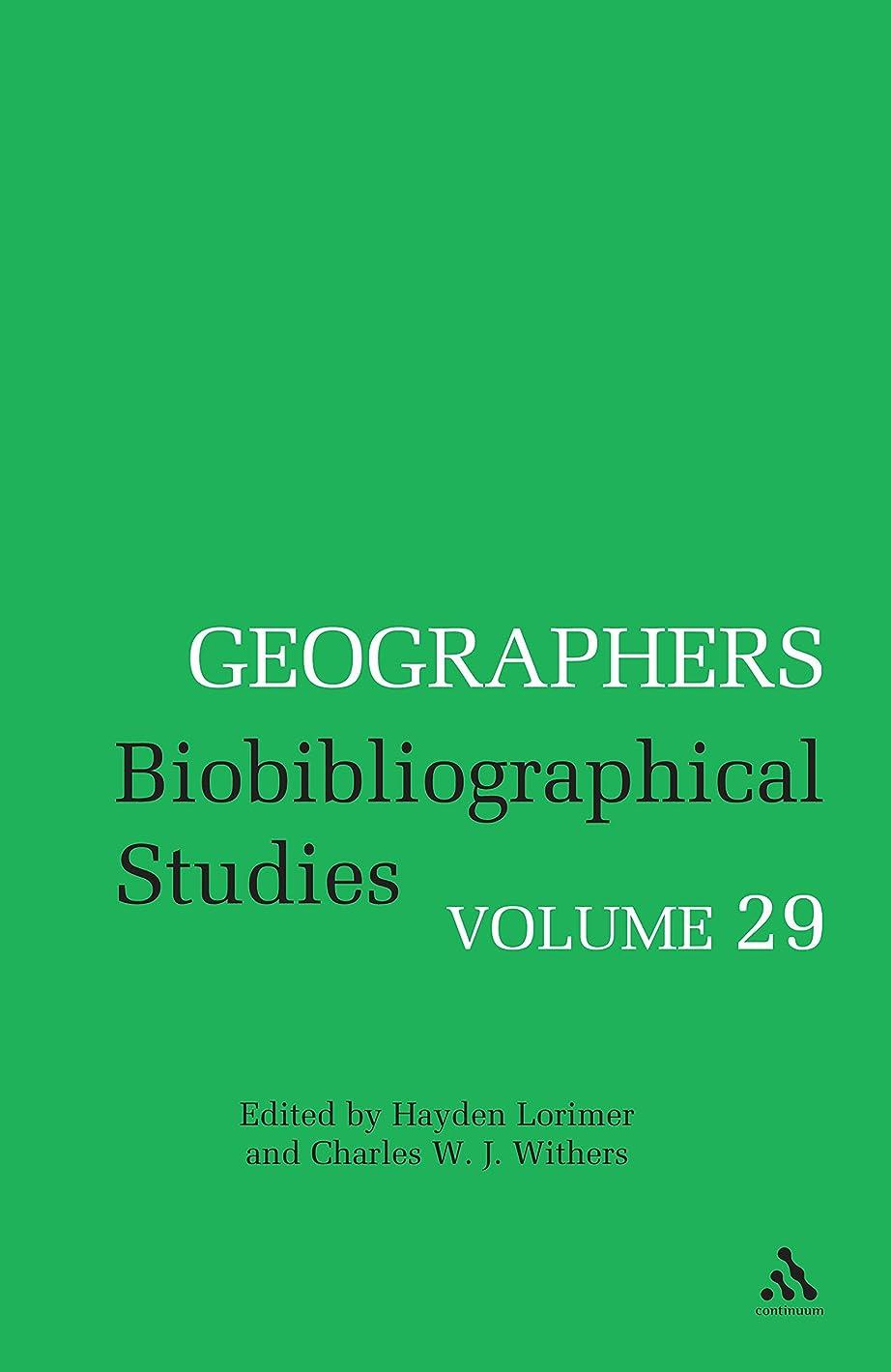 暖炉クレタ現在Geographers: Biobibliographical Studies, Volume 29 (English Edition)