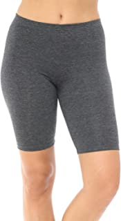 YourStyle USA Women's Bike Shorts - Fashion Biker Stretch Workout Running Yoga Athletic Active Leggings Pants