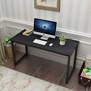 soges 55 inches Computer Desk Large Office Desk Computer Table Study Writing Desk for Home Office, GC-P2JJ-140BK