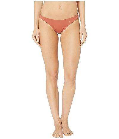 Eberjey So Solid Dree Bikini Bottoms (Redwood) Women