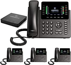 $715 » Mission Machines S-100 Business Phone System: Advanced Pack - Auto Attendant/Voicemail, Cell & Remote Phone Extensions, Ca...