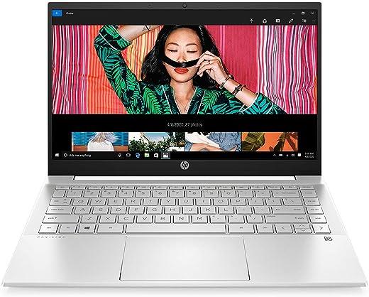 HP Pavilion 14 11th Gen Intel Core i5 14-inch (35.5 cms) Thin & Light FHD Laptop (8GB/512GB SSD/Windows 10/MS Office/Natural Silver/1.41 kg), 14-dv0543TU