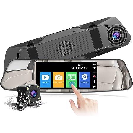 2021 Version Chortau Spiegel Dashcam 4 8 Zoll Touch Elektronik