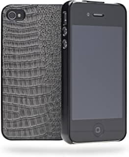 Cygnett CY0682CPSKI Skin Series Case for iPhone 4S - 1 Pack - Retail Packaging - Grey
