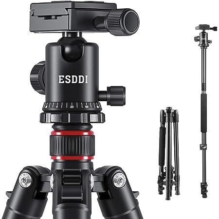 Esddi Kamera Stativ 162cm Aluminiumlegierungen Stativ Kamera
