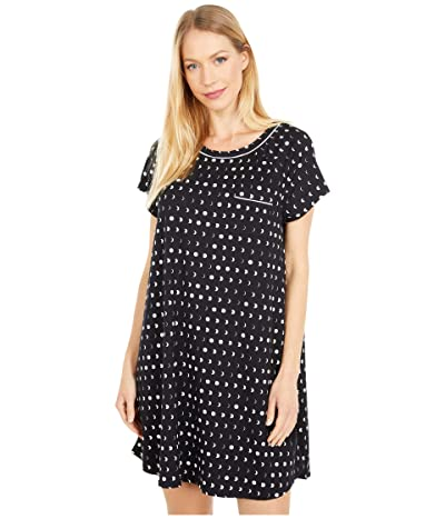 Kate Spade New York Brushed Jersey Sleepshirt (Mini Moons) Women