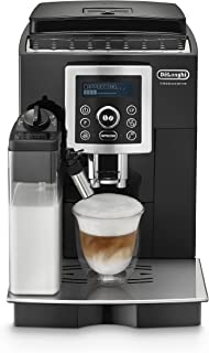 De'Longhi Compact ECAM23.460.B Fully Automatic Coffee Machine, Automatic Milk Frothing, Brews Coffee at The Right Temperat...