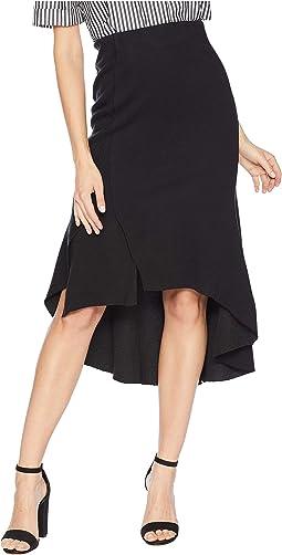 High-Low Ruffle Skirt
