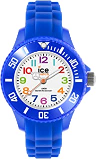 Ice-Watch - Ice Mini Blue - Montre Bleue pour Garçon avec Bracelet en Silicone - 000745 (Extra Small)