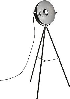 Rivet Boulevard Industrial Studio Tripod Floor Lamp With  Bulb, 60.5