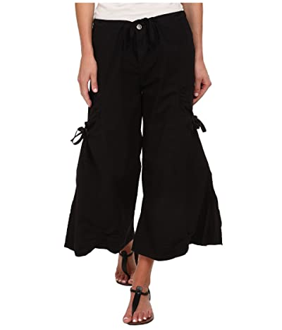 XCVI Cargo Gaucho Crop (Black) Women