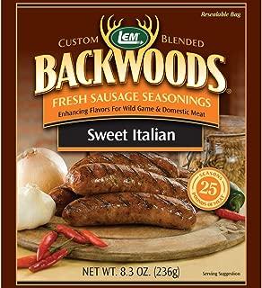 Backwoods Sweet Italian Fresh Sausage Seasoning 8.34 oz.